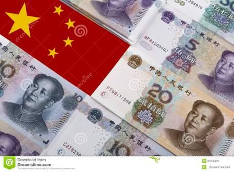 dinero chino yuan