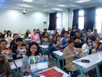 estudiantes chinos en peru